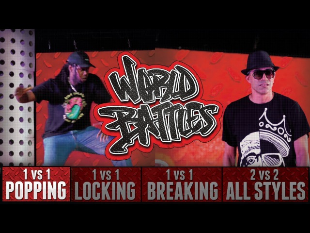 Monsta Pop - Canada vs Sweepy - USA at HHI2017 World Battles Popping Top 8
