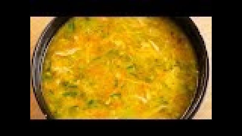 Суп из курицы. Секретный ингредиент Манка.