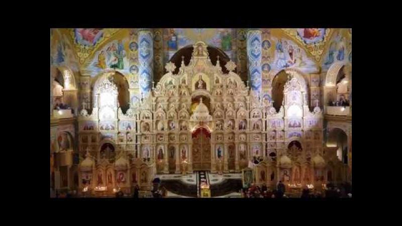 С Рождеством Христовым поздравляем вас... Верхний хор Свято-Успенской Почаевской Лавры