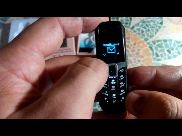 LONG-CZ T3 - новинка самый маленький кнопочный телефон c вибро и сравнение с другими