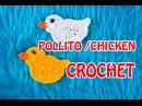 COMO HACER UN POLLITO DE PASCUA A CROCHET FACIL / HOW TO DO EASY CHICKEN EASTER WITH CROCHET