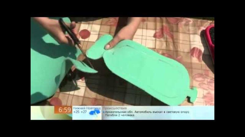 Шлепки Как сделать пляжные шлепки из Изолон