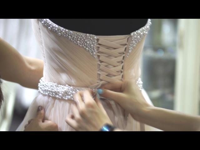 Полезные советы для невест! Как зашнуровать корсет.