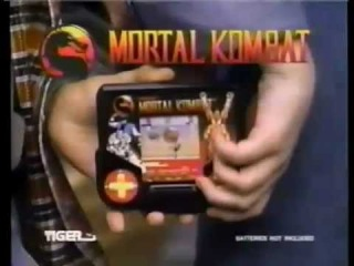 Mortal Kombat and X-Men - Tiger Electronics TV Commercial - Tiger Handheld LCD
