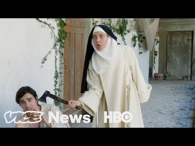 Aubrey Plaza and Jeff Baena Made A Sex-Crazed Nun Comedy