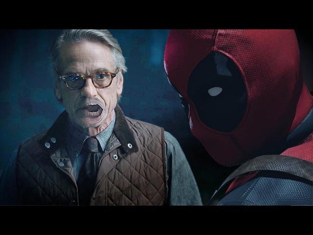 DEADPOOL meets ALFRED | Justice League - Comic-Con Trailer