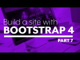 Build a website with Bootstrap 4 - Part 7: Upcoming Shows and Footer - plus an announcement!