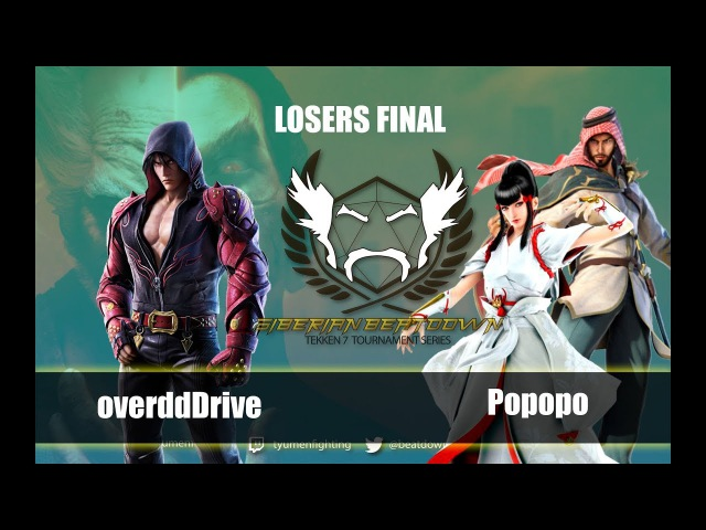 SBTTS vol 6 Losers final overddDrive Jin vs Popopo Kazumi Shaheen