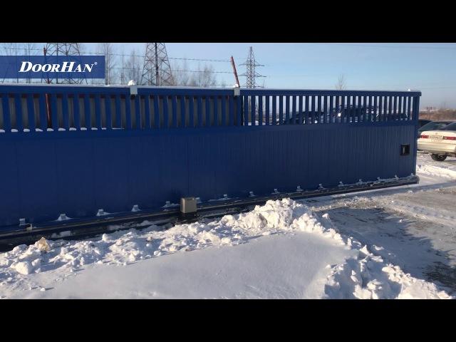 Отзывы о работе автоматики DoorHan зимой. Часть 3