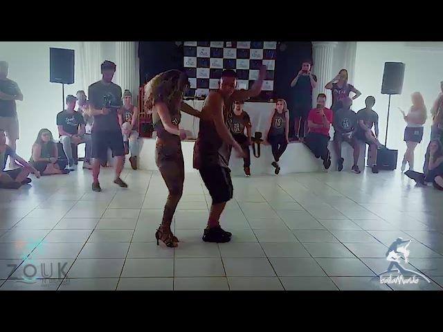 Baila Mundo Evellyn Vasconcelos e Jefferson Dadinho Zouk'n Beach 2017