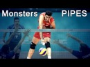 TOP 10 Monsters KILL volleyball PIPES / powerful pipes