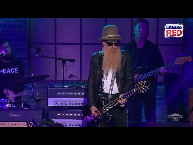 Billy Gibbons Blue Jean Blues at Skyville Live 720p