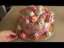 День рождения турецкой свекрови.Рецепт шахматного торта.