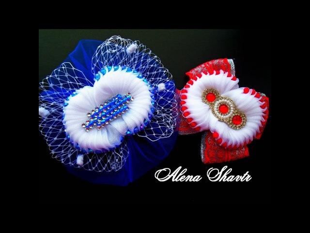 Бант для платья / волос / Канзаши МК / Alena Shavtr