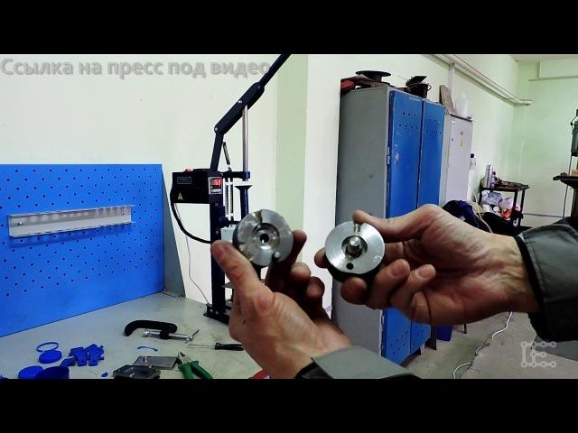 Настольный ручной пресс для литья пластмасс Hand-operation Injection molding