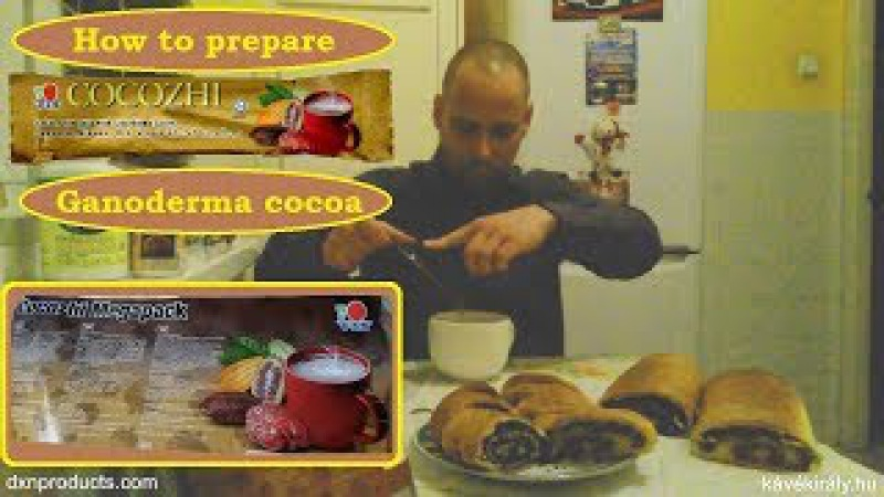 My delicious healthy Christmas present is Ganoderma cocoa Megapack