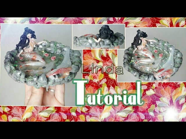 Tutorial Statuetta♡ polimerclay resina coll. Nese time!!