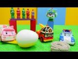 Robocar Poli Video 🚔 Die #Robocars entdecken neue Spiele 🚗Spielzeugautos+Robocar Poli auf Deutsch