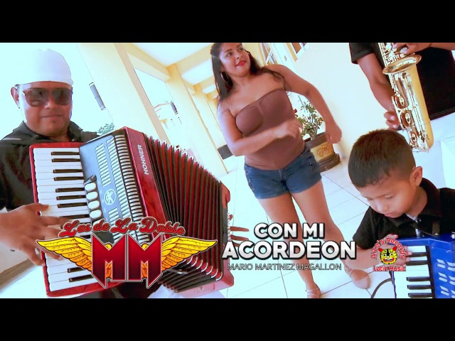 Los De La Doble MM - Con Mi Acordeón (VIDEO OFICIAL) 2017