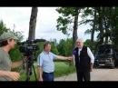 В Гусеве снимают кино про Эйфелеву башню с Сергеем Маковецким и Ренатой Литвино