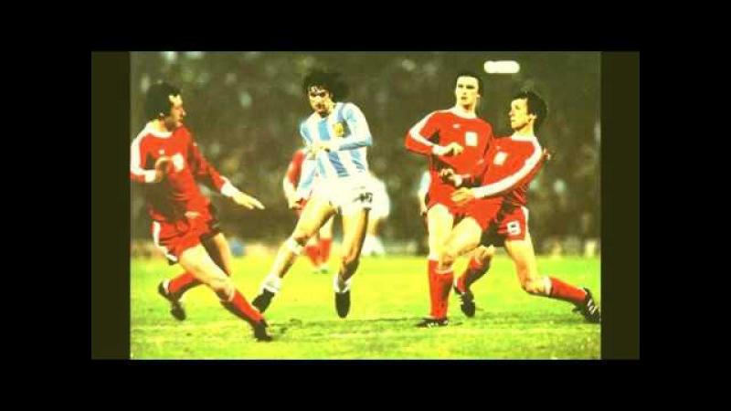 Mundial 78' los goles de Argentina video con los relatos de Jose Maria Muñoz