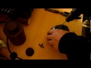 Портативная горелка из фильтра от противогаза