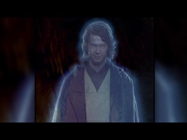 Зачем призрак Энакина Скайуокера явился к Лее Органе? (Легенды)