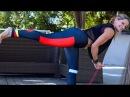 Тренировка йога для похудения с эспандером Укрепляющие позы йоги Yoga Workout with Resistance Band Yoga for Fat Loss Strengthening Yoga Poses