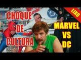CHOQUE LIXO: Marvel vs DC
