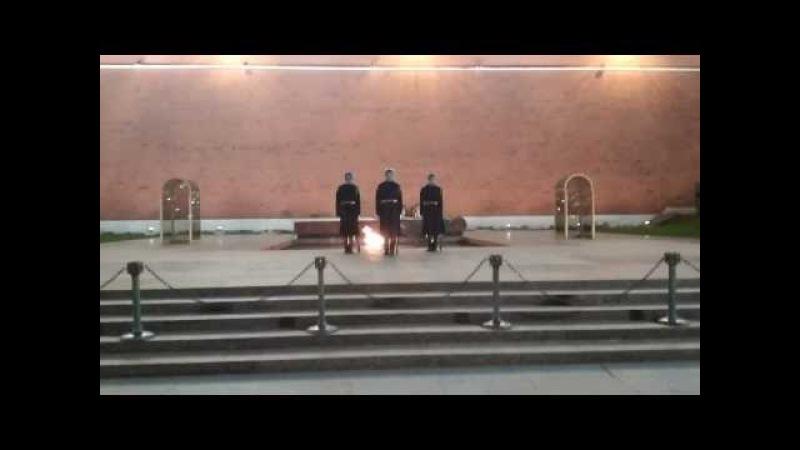 Москва. 8:00 Пост №1 заступление караула