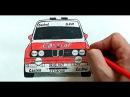 Как нарисовать Машину Бумер BMW Ehedov Elnur Wie man ein Auto BMW zieht