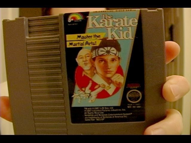 The Karate Kid - NES - Angry Video Game Nerd - Episode 3