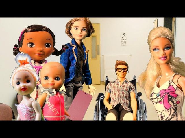 Мультик Барби Мама: Новый телефон Люси На приеме у доктора Вредные детки и Барби детям Barbie doll