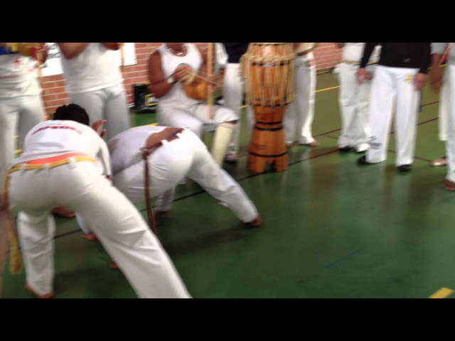 Jogo de Benguela evento do capoeira