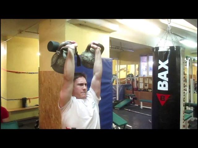 Доношение гирями67кг(3532)70кг(3832)73кг(41кг32кг). 73kg kettlebells two hands anyhow.BWT-66kg