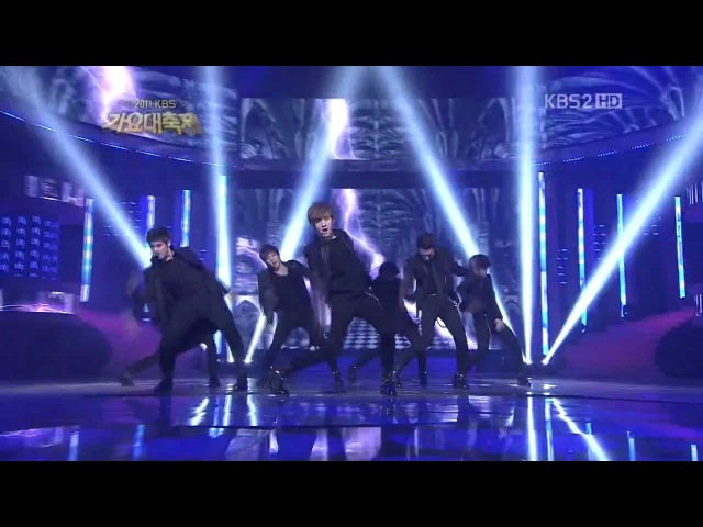 UKISS- NEVERLAND LIVE (Remix Ver.) HD 2011.12.30