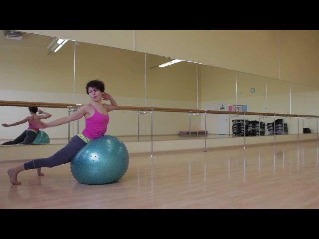Плоский живот, сильные мышцы спины, рук - проработаем все тело.