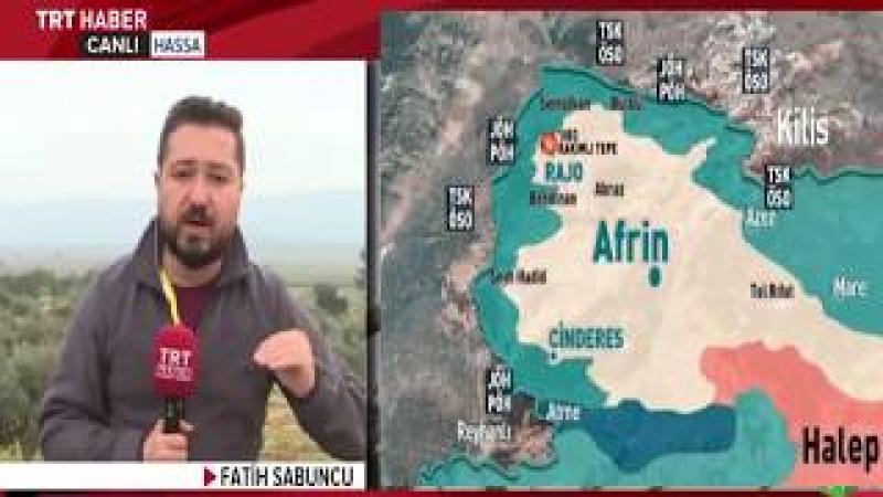 Afrin Operasyonunda 43 Gün Raco Merkezi Ele Geçirildi 3 Mart 2018