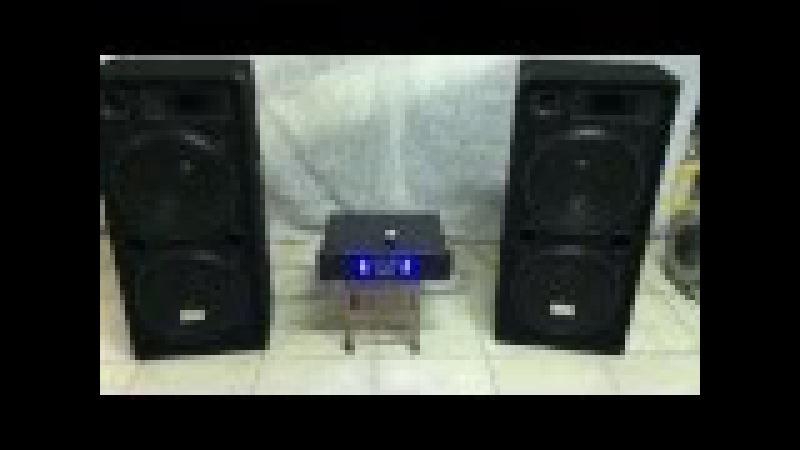 Auna / Malone - PW-2522 diffusori passivi 750W RMS 1500W max cadauna