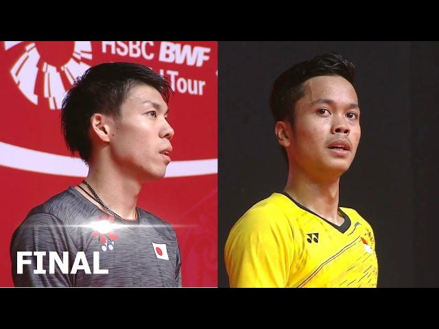 Anthony Sinisuka GINTING vs Kazumasa SAKAI 2018 Indonesia Masters Final