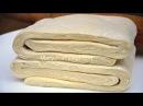 ✧ БЫСТРОЕ СЛОЕНОЕ ТЕСТО За 15 минут СЕКРЕТ Приготовления ✧ Quick puff pastry ✧ Марьяна