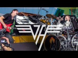 Van Halen Medley - LIVE - Avery Drummer &amp Friends - 10 year old Drummer