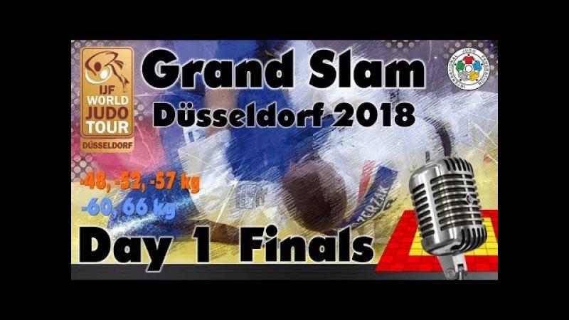 Judo Grand-Slam Düsseldorf 2018: Day 1 - Final Block