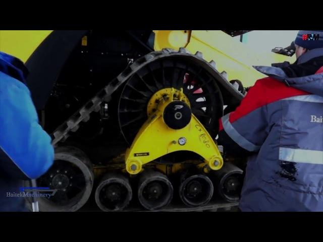 клип для BaitekMachinery о гусеничной системе Poluzzi RAM