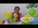 Como fazer abelha de balão centro de mesa balloon bee
