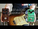 $20 vs $200 Overdrive Pedal 1959 Stratocaster TC Electronics MojoMojo vs Ts808 Tube Screamer