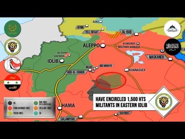 23 января 2018.Военная обстановка в Сирии. Минобороны РФ заявило об окружении 1500 боевиков