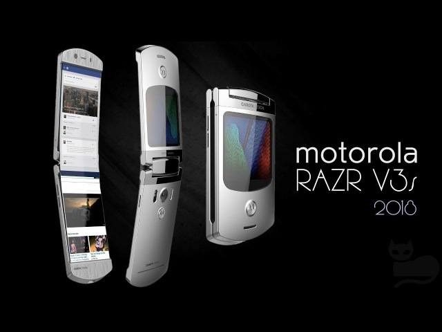 Motorola RAZR V3s (2018) Motorolas Resurrection! Clamshell Phone with Foldable Display ᴴᴰ