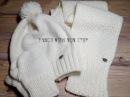 Вязание для детей. Шапочка, шарф и рукавички спицами. - YouTube