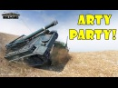 World of Tanks Funny Moments ARTY PARTY 47